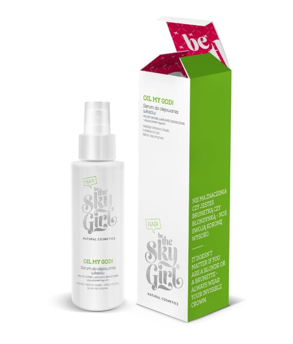 Oil My God! Hårolje serum- Hair oil-100ml