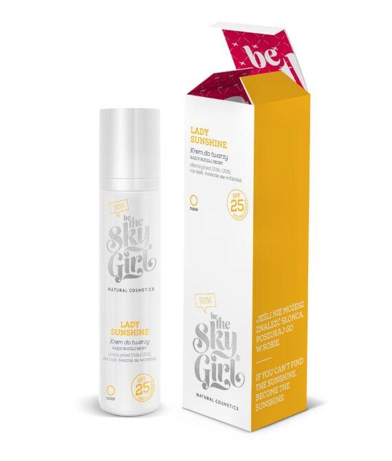 Lady Sunshine! Ansiktskrem SPF 25- Face Cream- 50ml