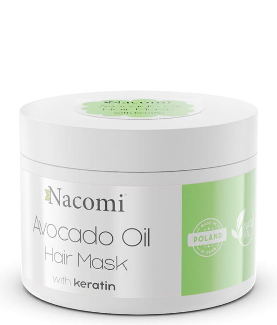 Hårmaske avocado med keratin 200ml – Nacomi