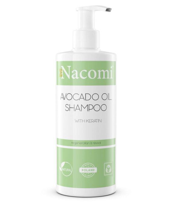 Shampoo – sjampo avocado olje med keratin 250ml – Nacomi