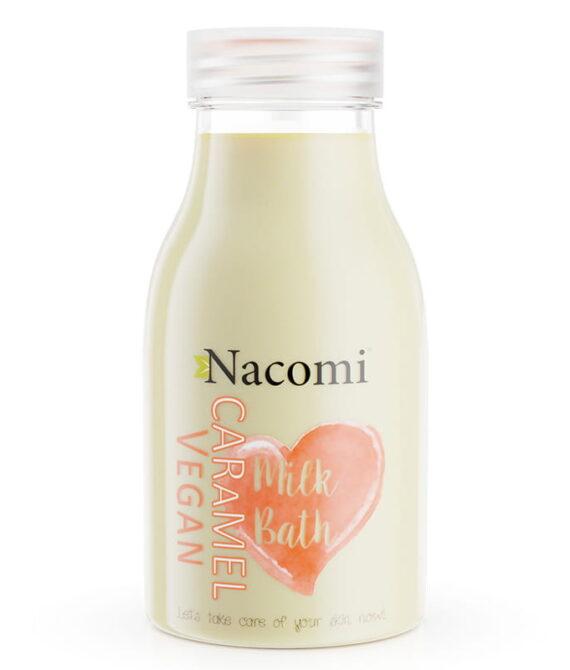 Bademelk karamell – bath milk caramel 300ml – Nacomi