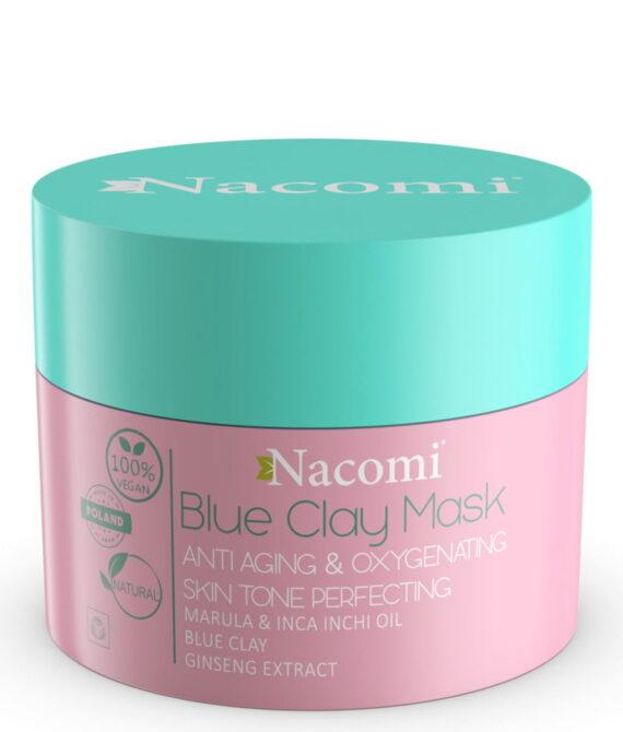 Blue clay mask 50ml oksygenerende og anti-rynke maske – Nacomi