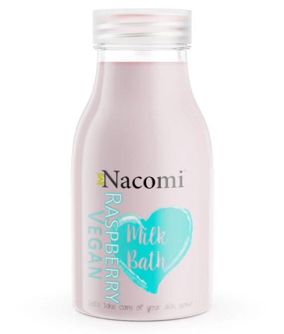 Bademelk bringbær – Raspberry bath milk 300ml – Nacomi
