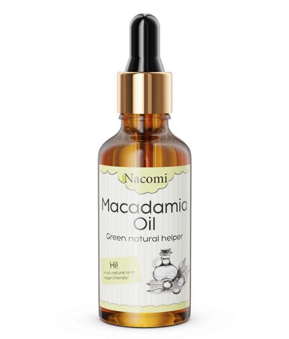 Macadamia olje med pipette 50ml – Nacomi